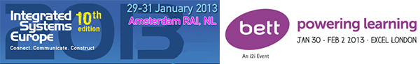 See us at ISE & BETT