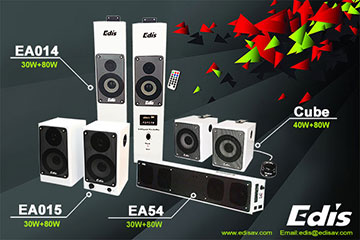 Edis Audio Visual Classroom speakers
