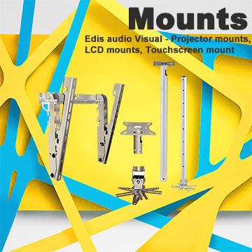 Edis Audio Visual - Mounts - Projector mounts and LCD mounts